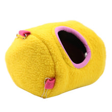 Load image into Gallery viewer, Cute Small Animal  bed  winter warm hanging House cage  accessory S L