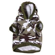 Load image into Gallery viewer, 2015 Hot selling  Pet Sweatshirt Camo Camouflage