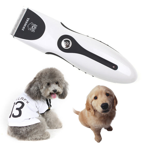 Rechargeable Hair Trimmer Electrical Pet Hair Clipper Remover Cutter  Haircut Machine