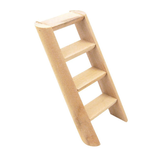 1 Pc 15*7*2cm Hamster Ladder Stand Wooden Climbing Toy Solid Playing Accessories