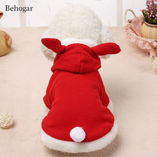 Pet  Winter Apparel Costume  Hoodie Coat