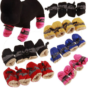 Antiskid  Waterproof Pet shoes Soft-soled
