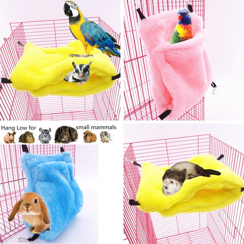 Small Animals Bed  Cave  Warm Pet Nest Hanging