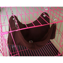 Load image into Gallery viewer, Pet Hanging Bed Warm Plush Cloth Hammock Cage Accessories Pet Toys S M L