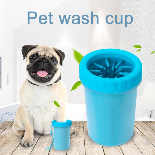 Paw Cleaner Portable Feet Washer  Silicone Cup Small Size Grooming