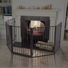 Load image into Gallery viewer, Pet Fireplace Fence  High-Quality Steel Construction