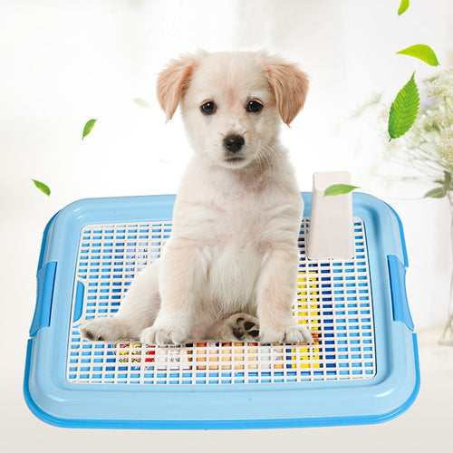 Pet  Litter Tray Potty Toilet  Pee Training Toilet Mesh