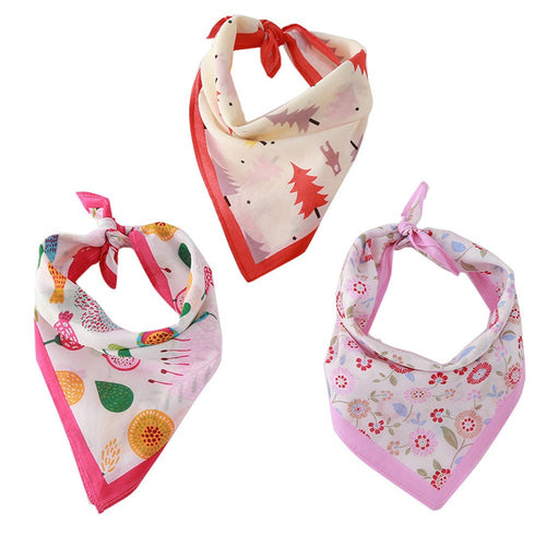 Cotton Soft Cute Breathable  Scarf /Saliva Towel
