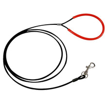 Load image into Gallery viewer, New Dog Leash Steel Wire Anti-bite Lead Strap Sliver/Black