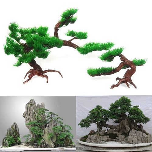 Simulation Aquatic Plants y Bonsai Accessories Simulation Pine Foreign Trade Heat Sell