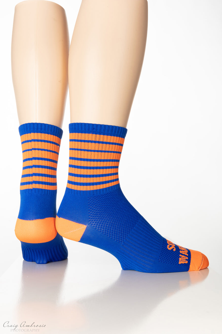 STRIPES Men's and Women's Compression Cycling socks
