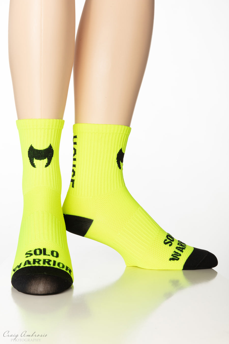 WARRIOR POWER HOUSE Men's and Women's Compression Cycling Socks