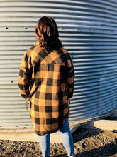 Load image into Gallery viewer, Copper Plaid Jacket
