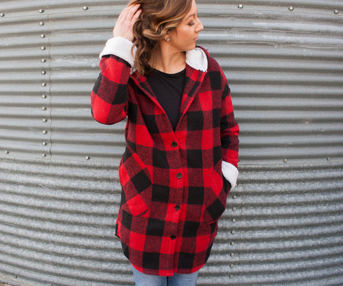 Sweet Lumberjack Jacket