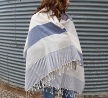 Load image into Gallery viewer, Turkish Towels/Blanket Scarves