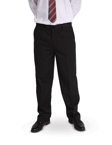 Front pleat style senior trousers