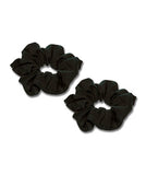 Black Scrunchies