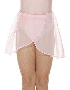 Wrapover skirt-pink