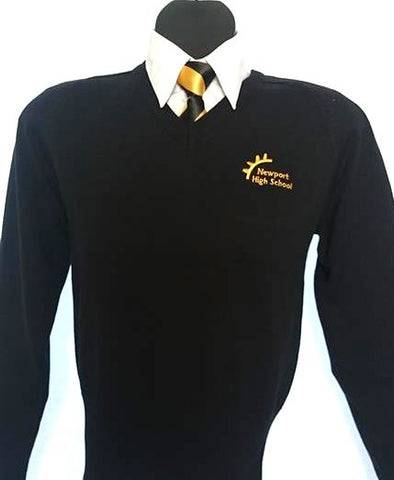 Newport High Girls Fitted Sweater