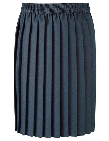 Pleated Navy