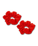 Red Scrunchies