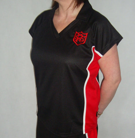 New Girls Fitted Sports Shirt