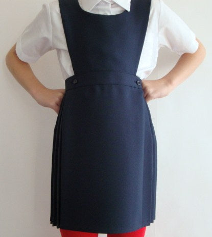 Winterbottom Kilt Pinafore Navy