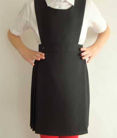 Winterbottom Kilt Pinafore Black