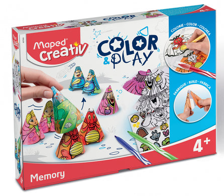 Travaux Manuel 907000 Color&Play (ES-PT-EN-FR) (Refurbished A+)