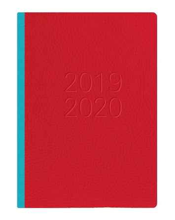 Agenda LETTS Two Tone 2019/20 Rouge (Refurbished A+)