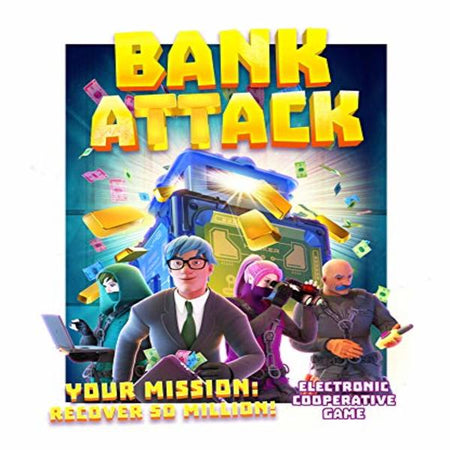 Jeu de société Bank Attack (EN) (Refurbished A+)