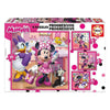 Puzzle Minnie Mouse Happy Helpers Progressive 12-16-20-25 Pièces