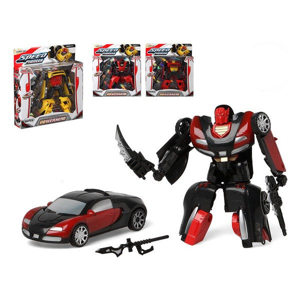 Voiture robot Power Hero 111775
