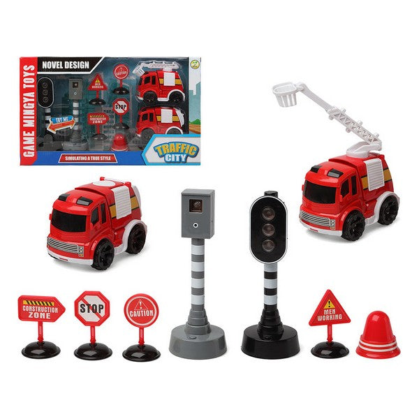 Set pompiers Traffic City 112840 (9 pcs)