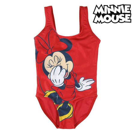 Maillot de bain Enfant Minnie Mouse Rouge