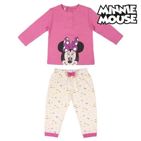 Pyjama bébé Minnie Mouse Rose