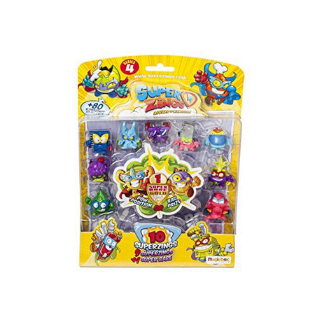 Figurines d'action SuperThings Serie 4 PSZ4B016IN00 (10 uds) (Refurbished A+)
