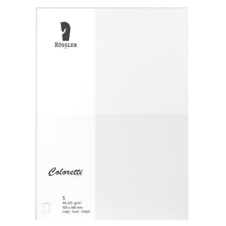 Carte de voeux A6 (5 pcs) (Refurbished A+)