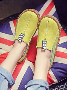 Comfy Round-Toe Soft-Sole Loafers