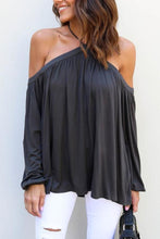 Load image into Gallery viewer, Halter Open Shoulder  Plain T-Shirts