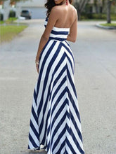 Load image into Gallery viewer, Strapless  Printed Maxi Dress