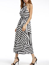 Load image into Gallery viewer, Spaghetti Strap  Printed Maxi Dresses