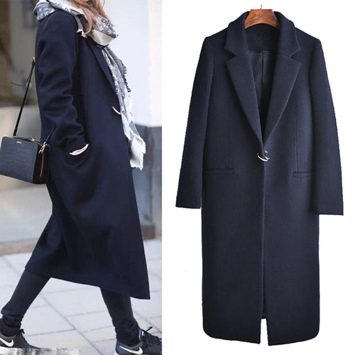 Large Size Loose Suit Collar Jacket