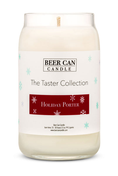 New Mini Taster Collection Soy Candle Holiday Porter