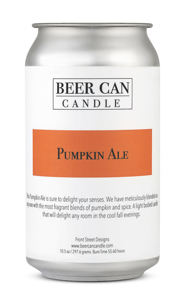 100 % Soy Beer Can Candle - Pumpkin Ale