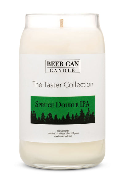 New Mini Taster Collection Soy Candle Spruce Double IPA