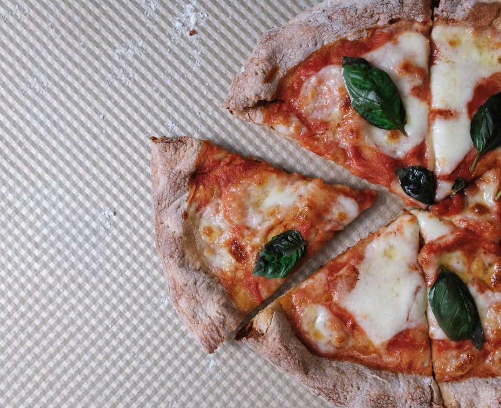 Ancient Grain Sourdough Margherita Pizza
