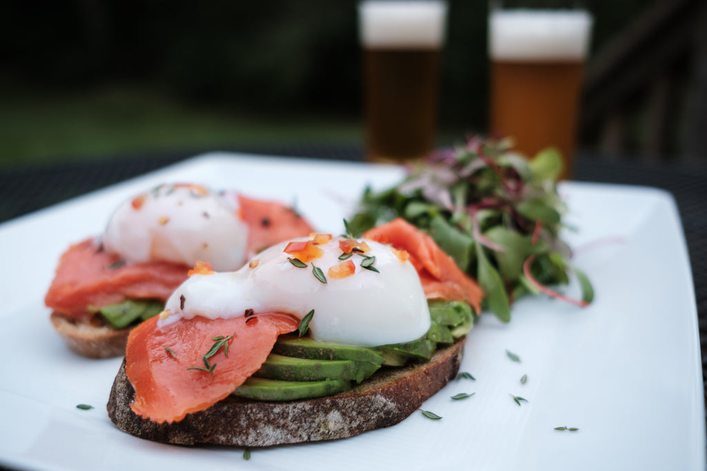 123Dough Bakery | Recipe | Smoked Salmon and Avocado Open Faced Sandwich