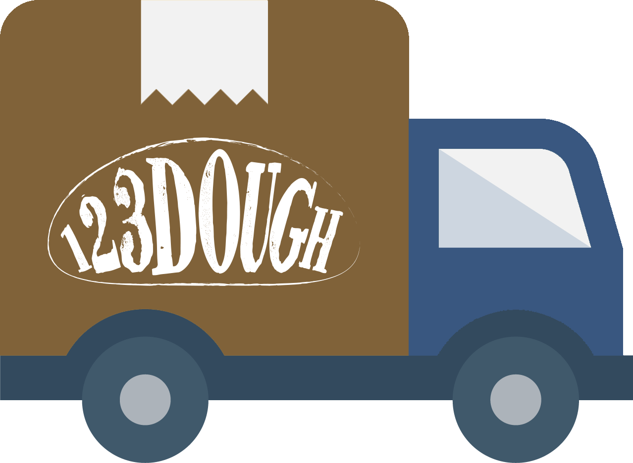 123Dough Bakery Free Shipping for First Time Customers