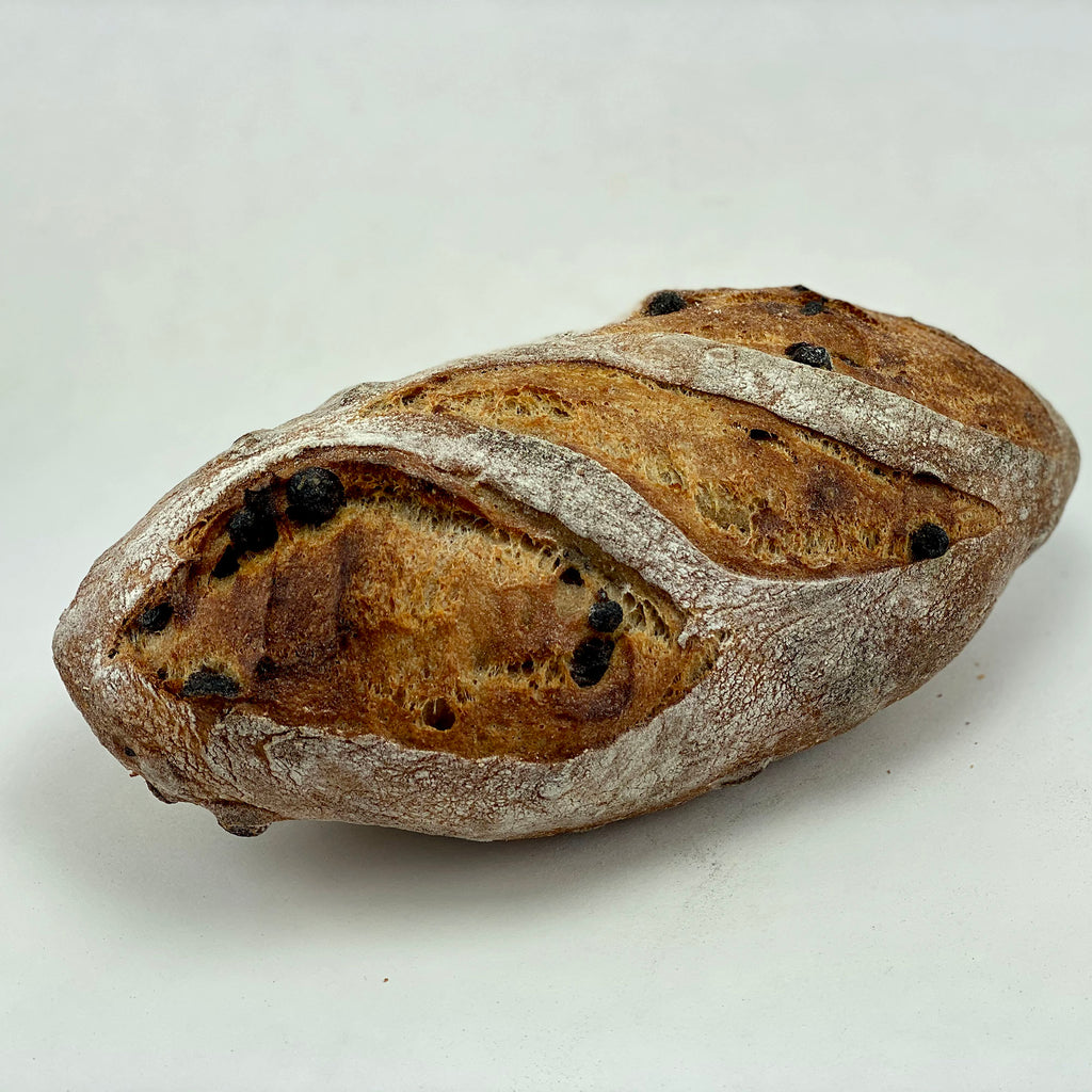 Ancient Grain Raisin Bread